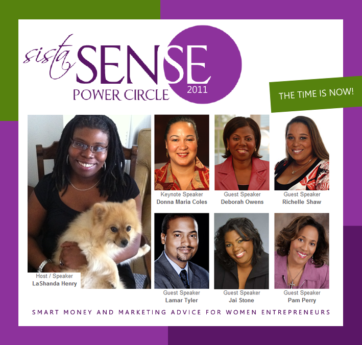 SistaSense Power Circle: Small Business TeleSummits & Motivational Audio Series for Web Women Entrepreneurs