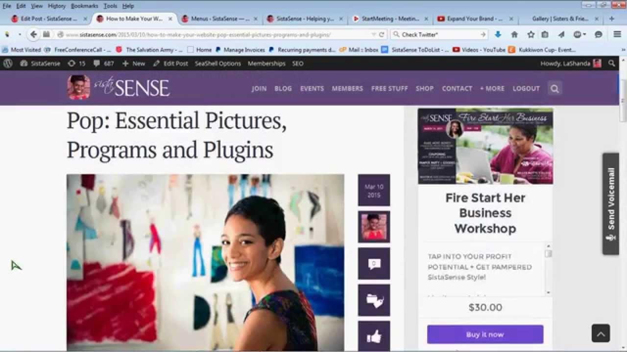 Better Blogging Basics, Plugins and Post Ideas
