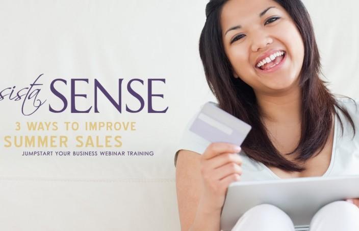 (video) 3 Ways to Boost Summer Sales