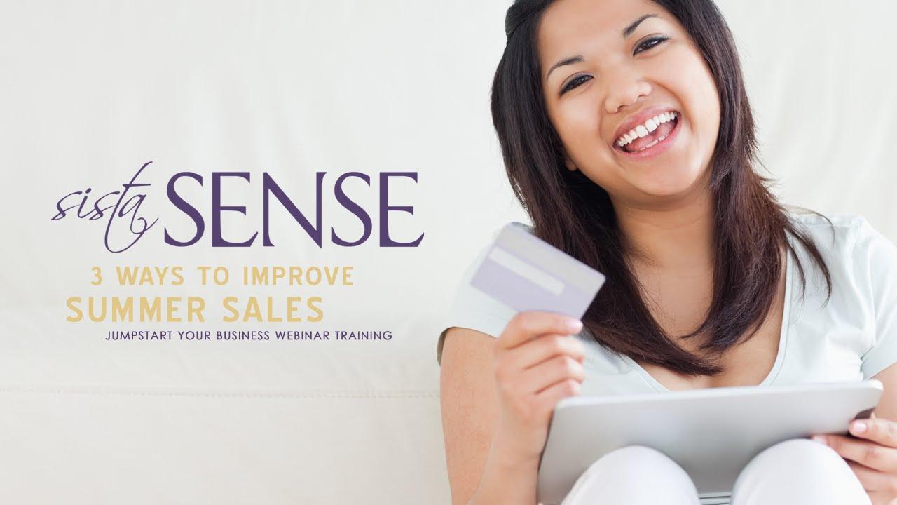 3 Ways to Boost Summer Sales
