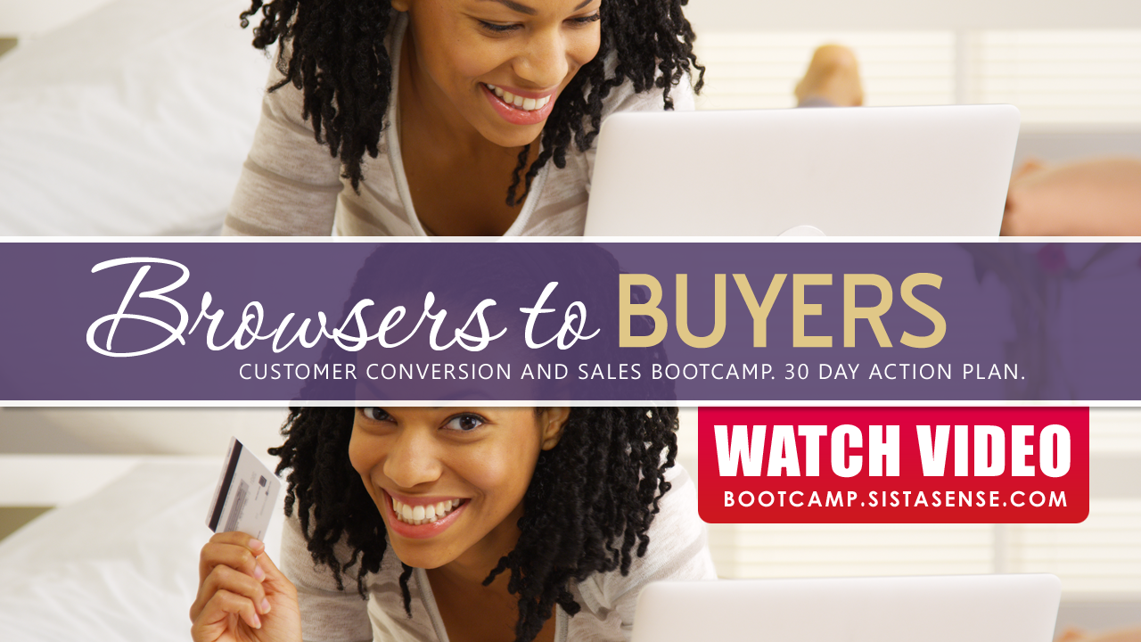 (video) First Steps to Convert Browsers to Buyers