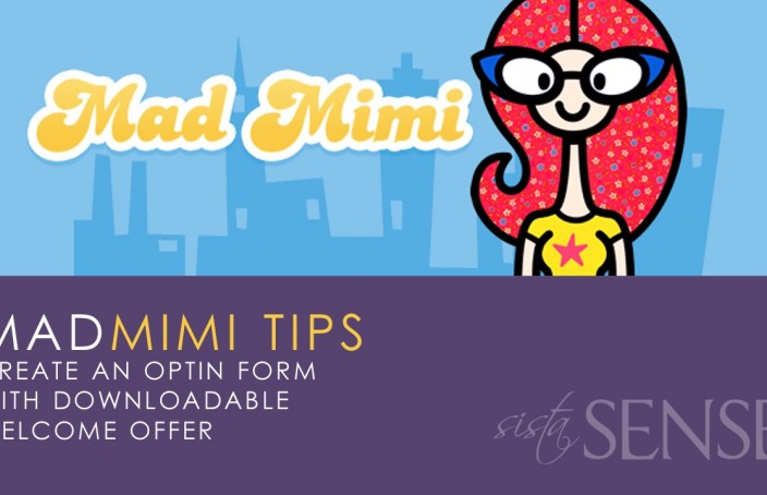 (video) MadMimi Tips: Create A Sign Up Form with Link to Optin Offer