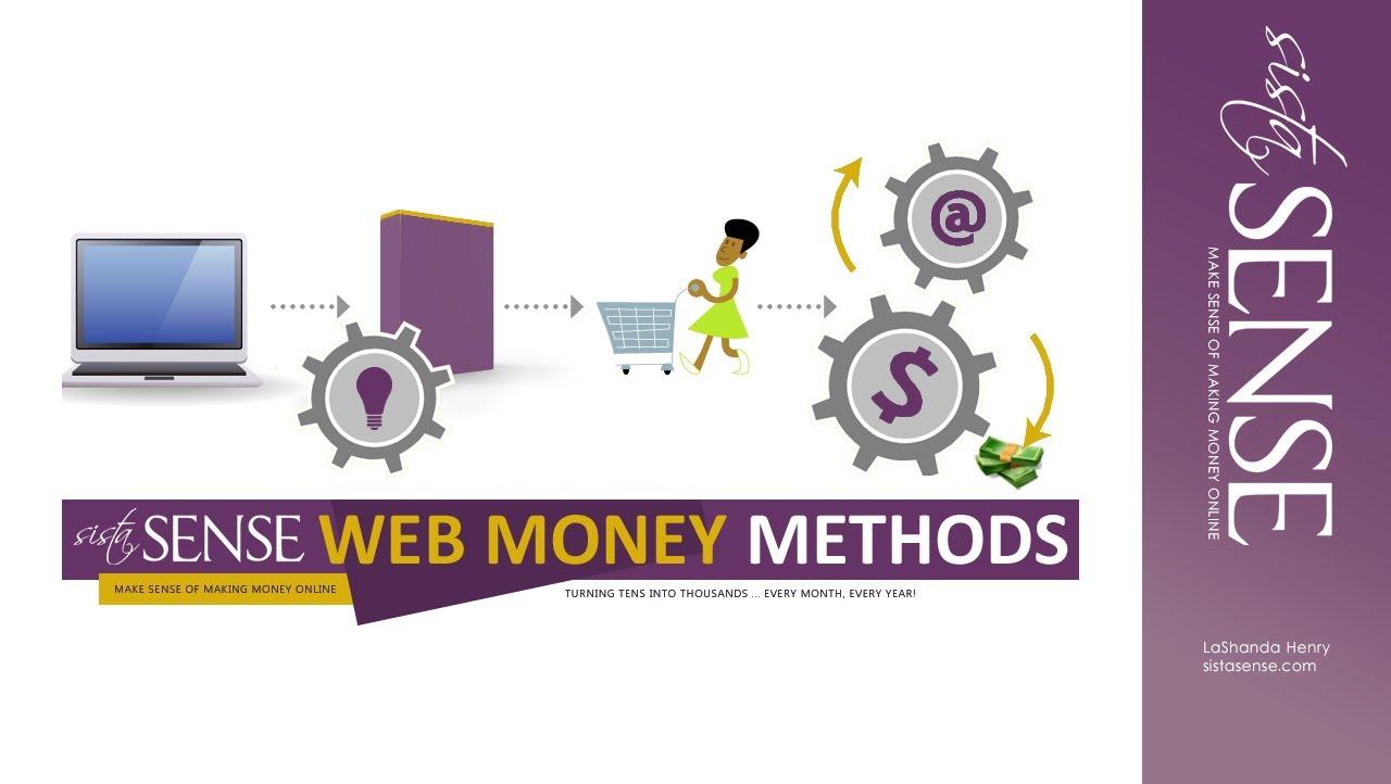 SistaSense Money Method: 4 Part System to Making Money Online