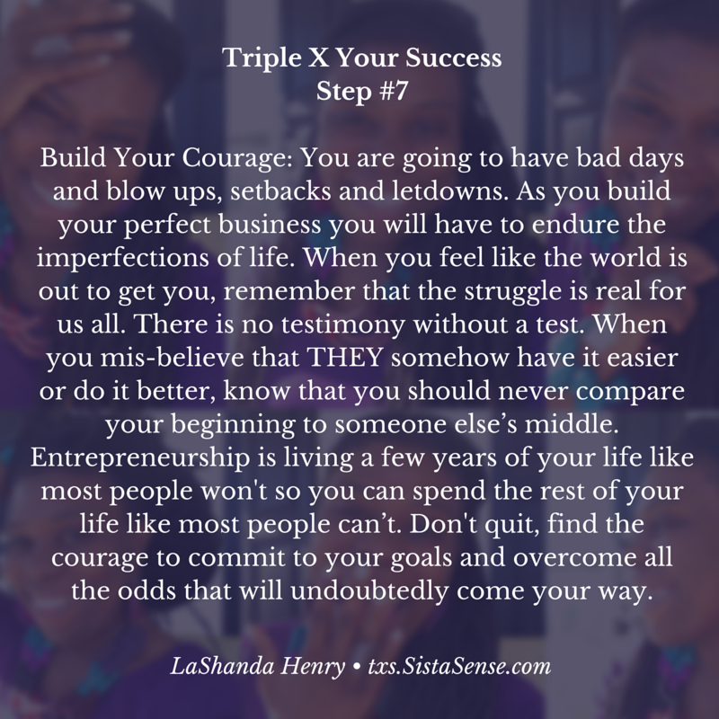 SistaSense 7 Steps to Triple X Your Success