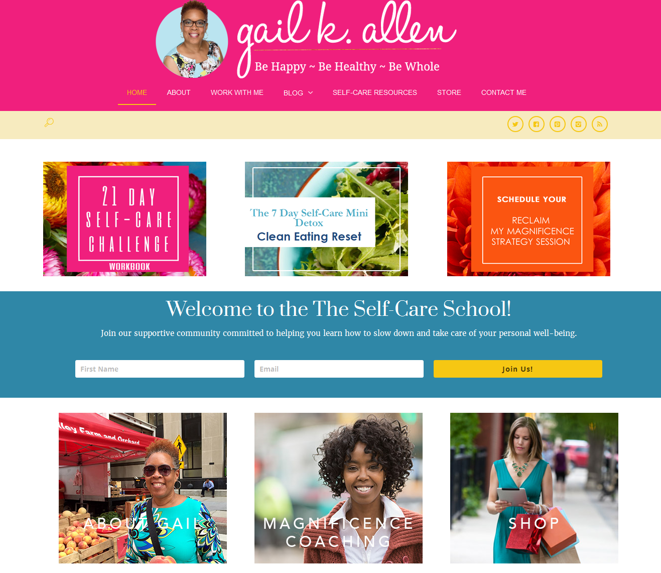 Website Design Inspiration for Coaches, Mentors, and Service Professionals