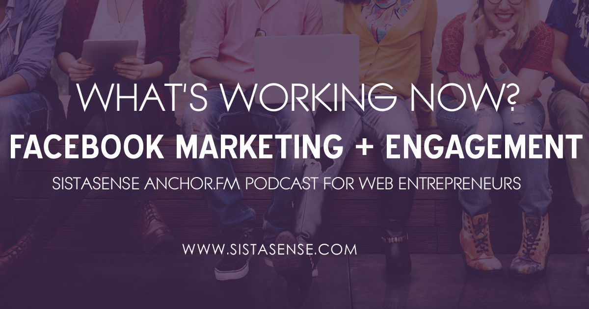 No Cost Facebook Marketing and Engagement: What's working now?