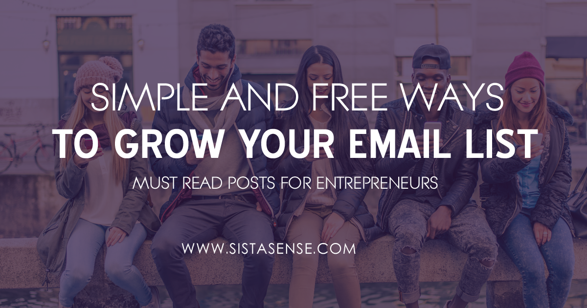 MadMimi Shares: 6 Simple and Free Ways to Grow Your Email List