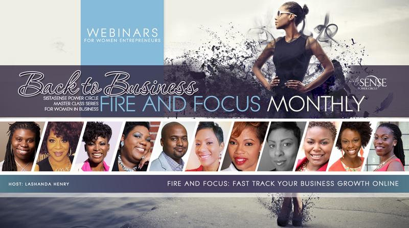 SistaSense Back to Business Webinar Training Series for Women Entrepreneurs / Black Women Entrepreneurs