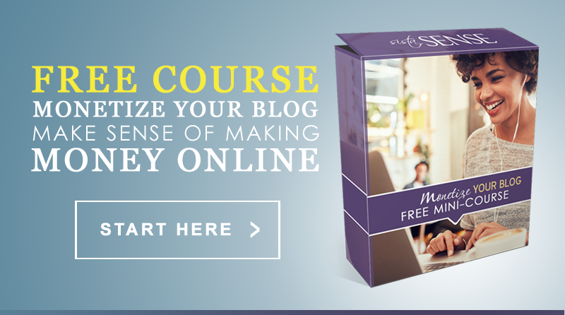 Monetize Your Blog FREE Mini-Course
