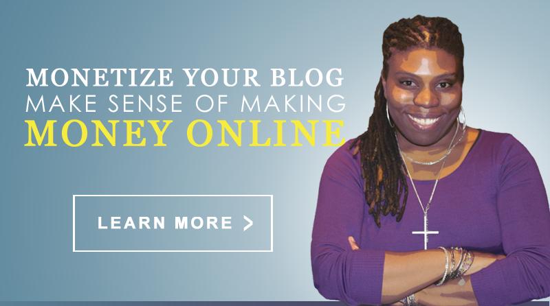 SistaSense Monetize Your Blog Series