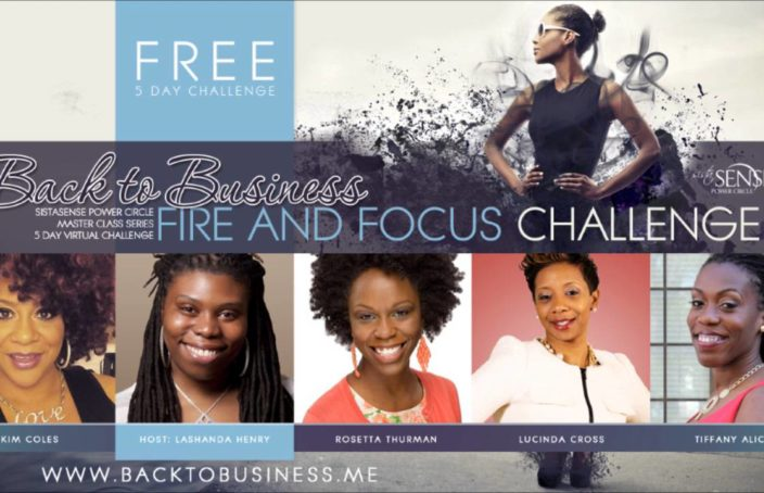 Back To Business Free 5-Day Challenge for Women Entrepreneurs