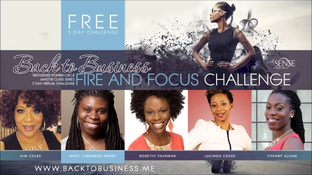 5 Ways to Get Back To Business: Free Challenge for Women Entrepreneurs