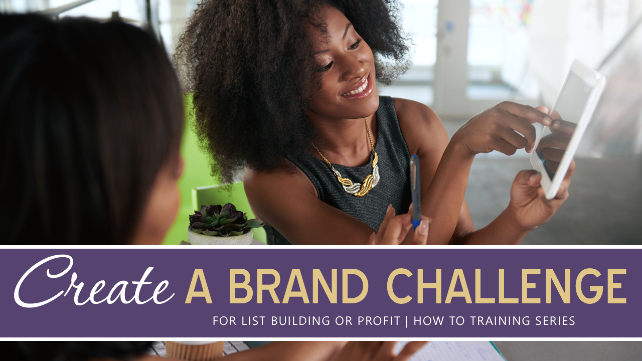 Reset Your Energy + Create A Brand Challenge