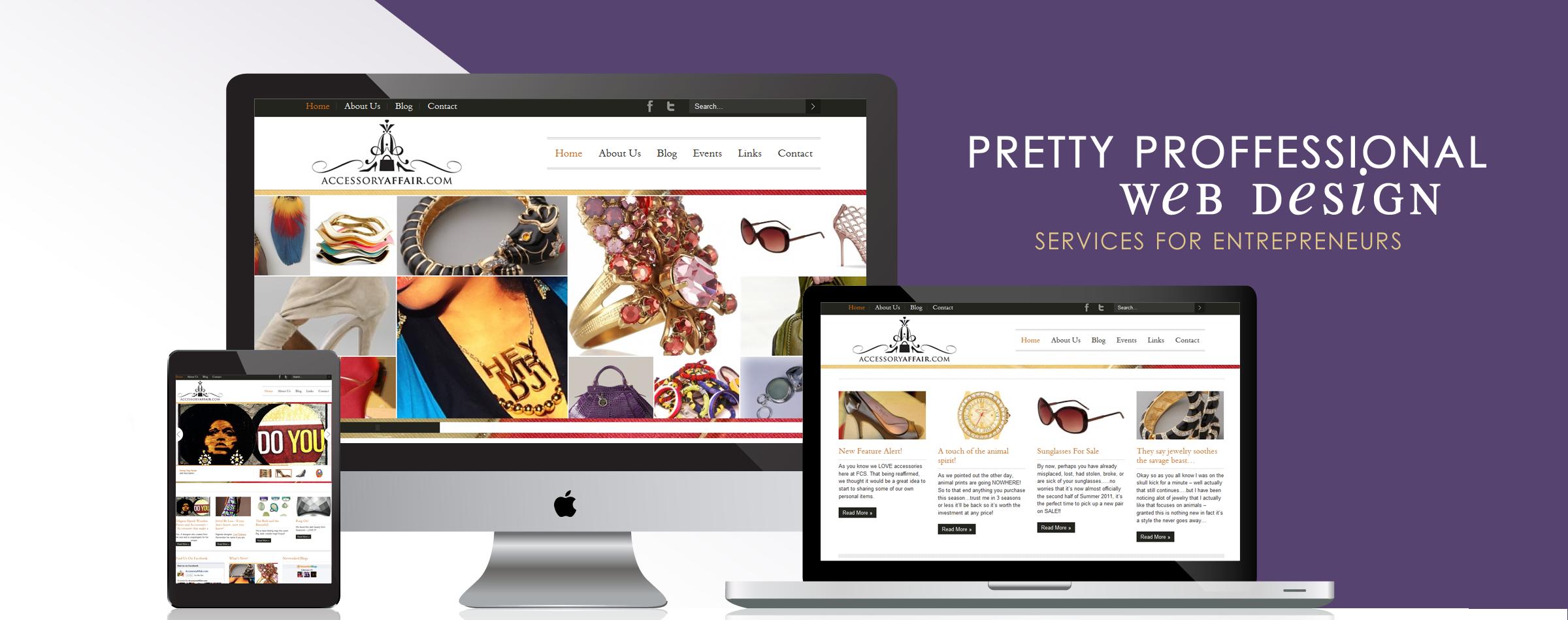 Web Design Services – SistaSense